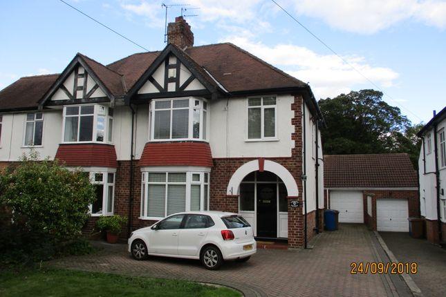 Thumbnail Semi-detached house to rent in School Lane, Kirk Ella