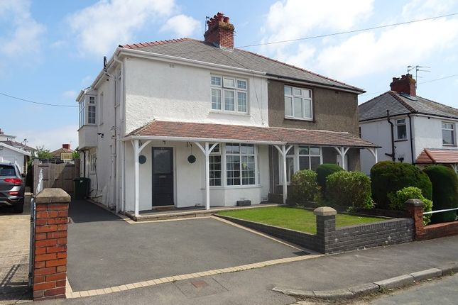 3 bed semi-detached house for sale in Downton Road, Rumney, Cardiff. CF3
