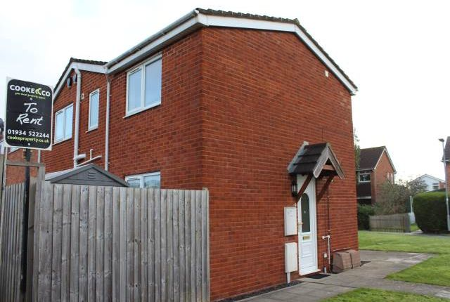 Thumbnail Flat to rent in Heron Close, Mead Vale, Weston-Super-Mare