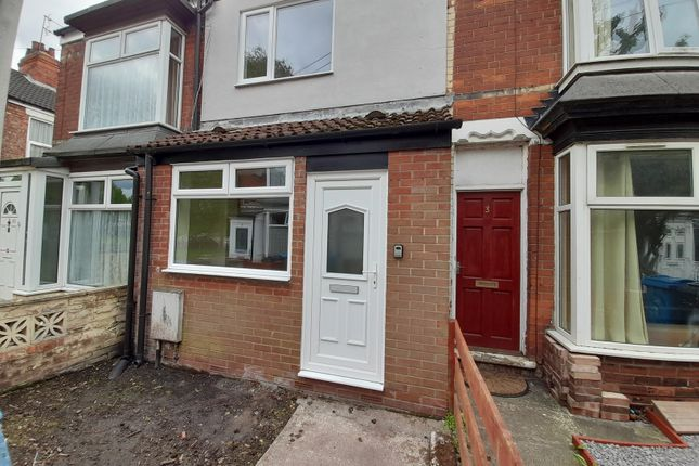 Thumbnail Terraced house to rent in Cardigan Avenue, Fenchurch Street, Hull