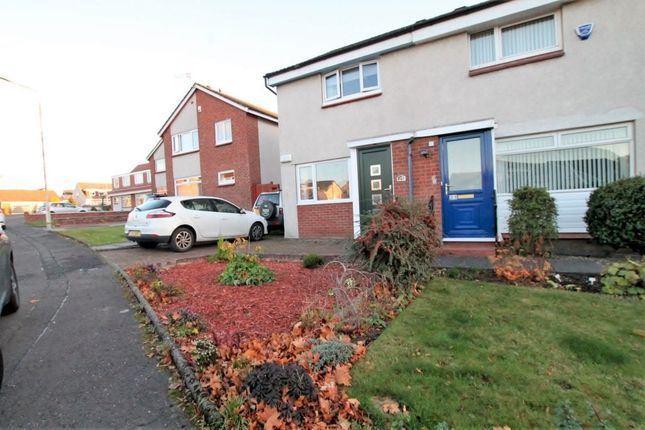 Thumbnail Semi-detached house for sale in Brogan Crescent, Motherwell
