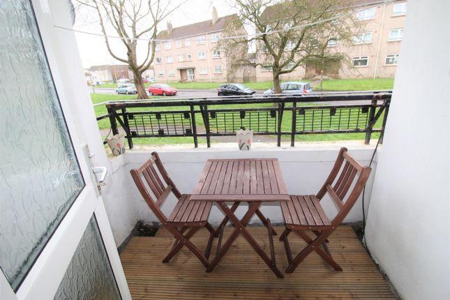 Balcony of Robertson Place, Kilmarnock KA1