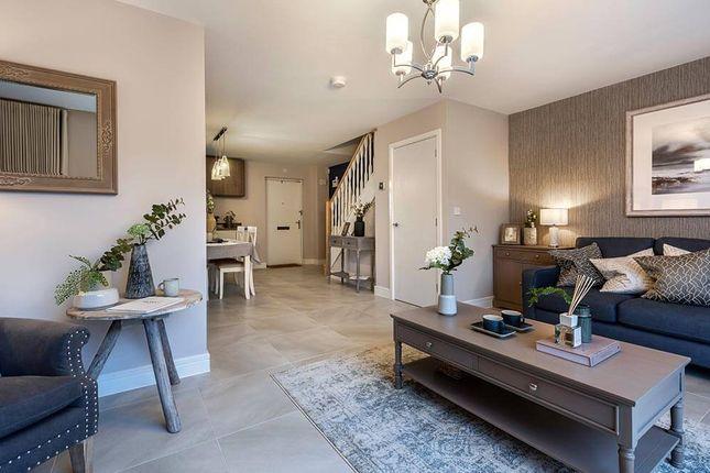 "Thumbnail Terraced house for sale in ""The Hazelbridge"" at East Kilbride, Glasgow"