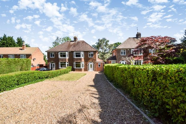 Thumbnail Semi-detached house for sale in Uppingham Road, Thurnby, Leicester