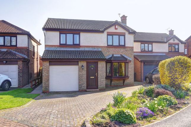 Thumbnail Detached house for sale in Windsor Court, Bedlington