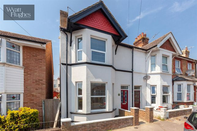 Thumbnail End terrace house for sale in North Road, Bexhill-On-Sea