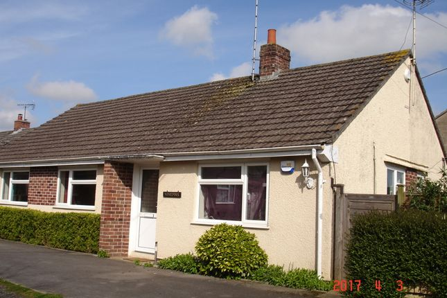 Thumbnail Detached bungalow to rent in Ninepins, Moor Lane, Wincanton, Somerset