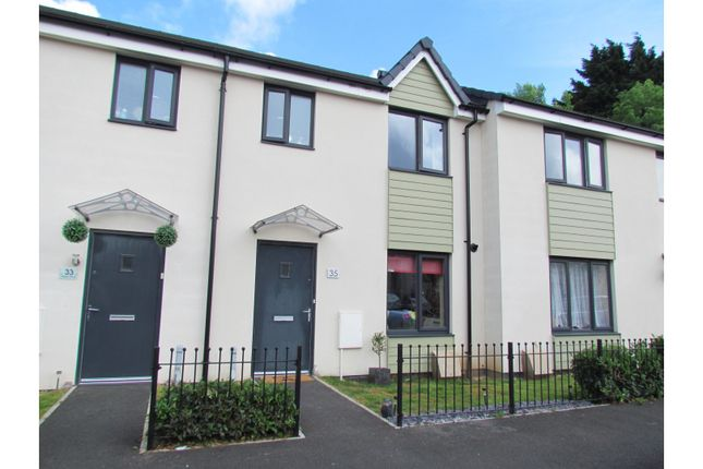 Thumbnail Terraced house for sale in Harlyn Drive, Plymouth
