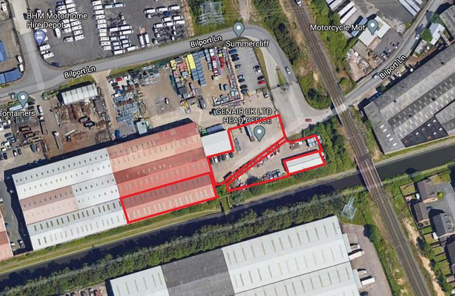 Thumbnail Light industrial to let in Unit 1 And Ancillary Unit, Prothero Industrial Estate, Bilport Lane