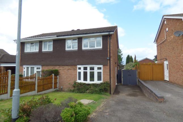 Thumbnail Semi-detached house to rent in Tanhill, Wilnecote, Tamworth