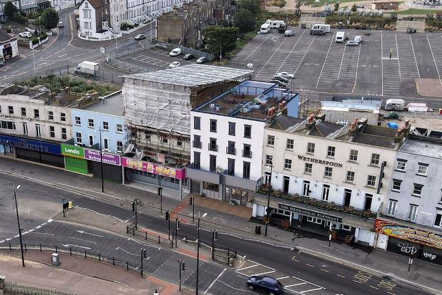 Thumbnail Retail premises for sale in 26 / 27 Marine Terrace, Margate, Kent