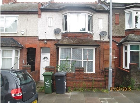 Thumbnail Terraced house to rent in High Town Road, Luton