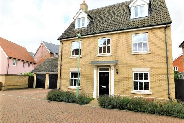 Detached house for sale in Greenfinch Close, Stowmarket