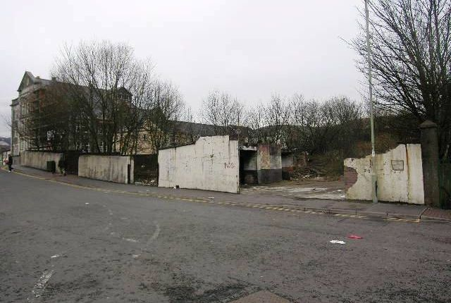Land for sale in Station Street, Treorchy