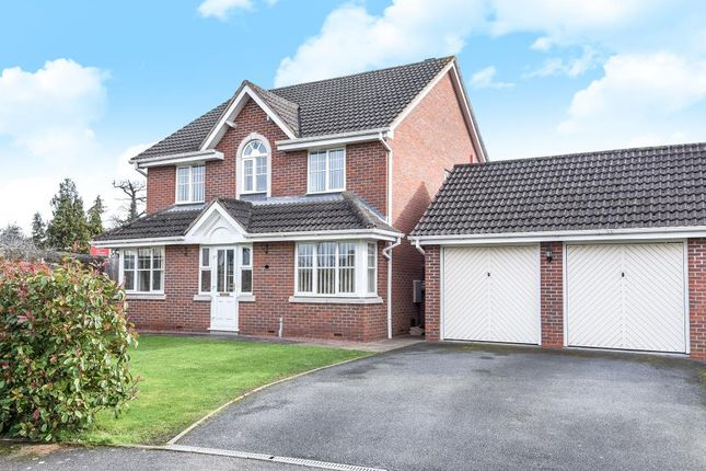 Thumbnail Detached house for sale in Aylestone Hill Area, Hereford