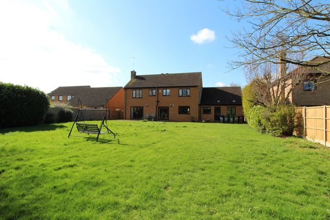 Thumbnail Detached house for sale in Holywell Way, Longthorpe, Peterborough