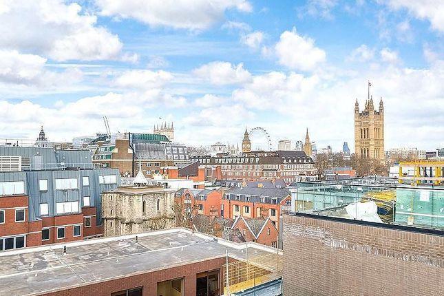 Rooftop Terrace of Rosamond House, Elizabeth Court, Westminster, London SW1P