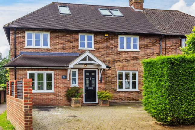 Thumbnail Semi-detached house for sale in Chestnut Copse, Hurst Green, Oxted