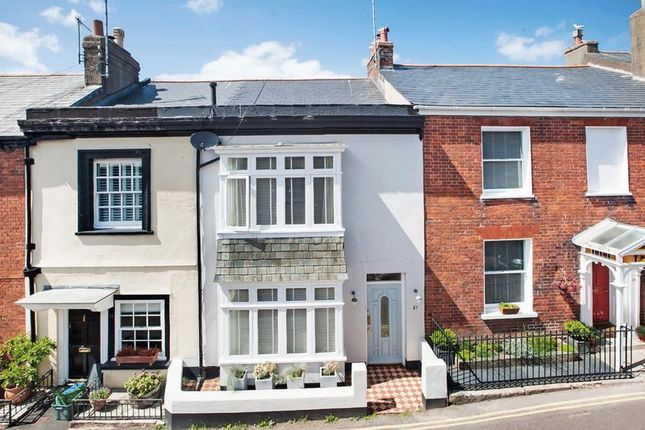 Thumbnail Terraced house for sale in Bicton Street, Exmouth