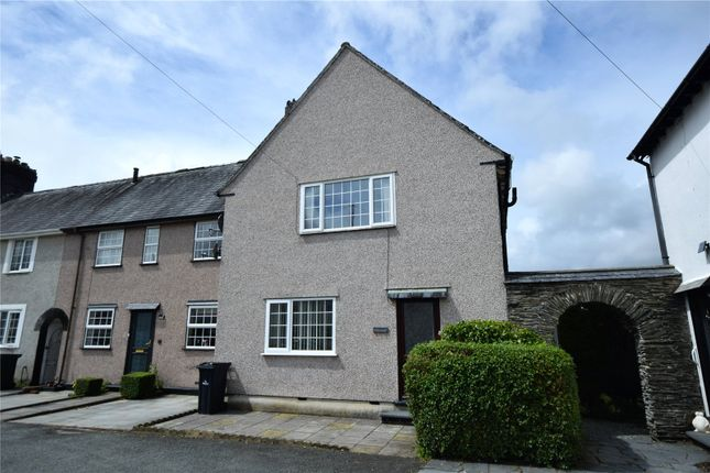 Thumbnail End terrace house for sale in Garden Village, Machynlleth, Powys