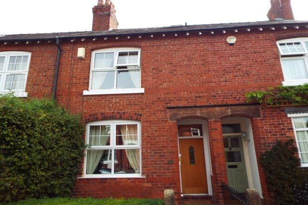 Thumbnail Property to rent in Carlisle Street, Alderley Edge