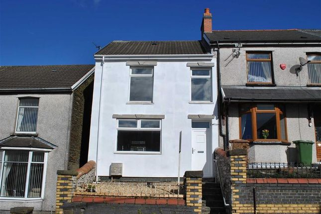Thumbnail End terrace house for sale in Bedwellty Road, Aberbargoed, Bargoed