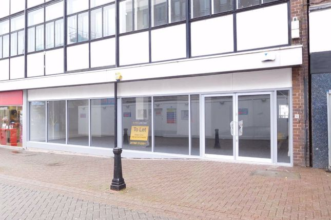 Thumbnail Retail premises to let in Parliament Row, Stoke-On-Trent, Staffordshire