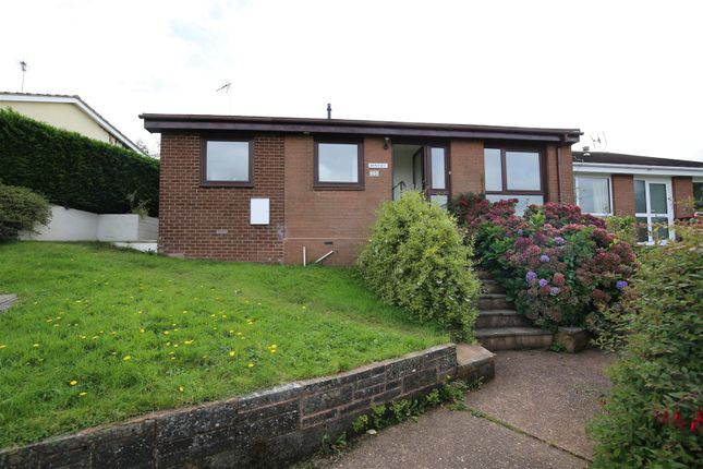 Thumbnail Bungalow to rent in Anstey Crescent, Tiverton