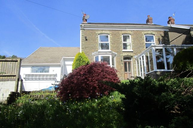 Thumbnail Detached house for sale in Pentwyn Road, Ystalyfera, Swansea.
