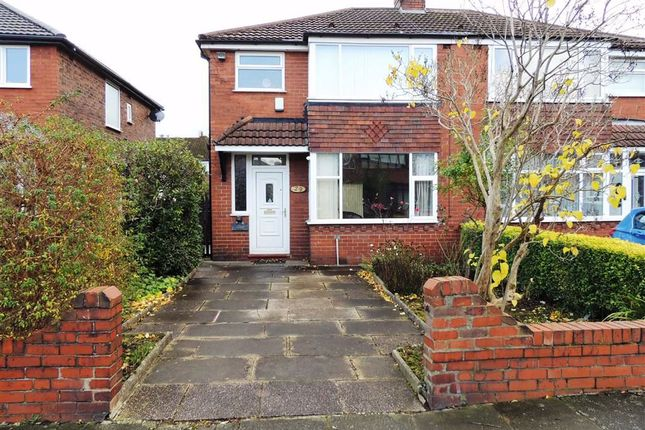Thumbnail Semi-detached house for sale in Hawthorn Road, Droylsden, Manchester