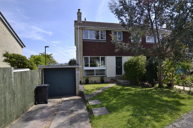 Thumbnail Semi-detached house for sale in Hillcrest Drive, Bath, Somerset