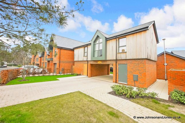 Thumbnail Detached house for sale in Chieftan Road, Longcross