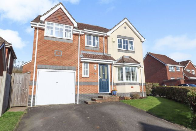 Thumbnail Detached house for sale in Stoke Heights, Fair Oak, Eastleigh