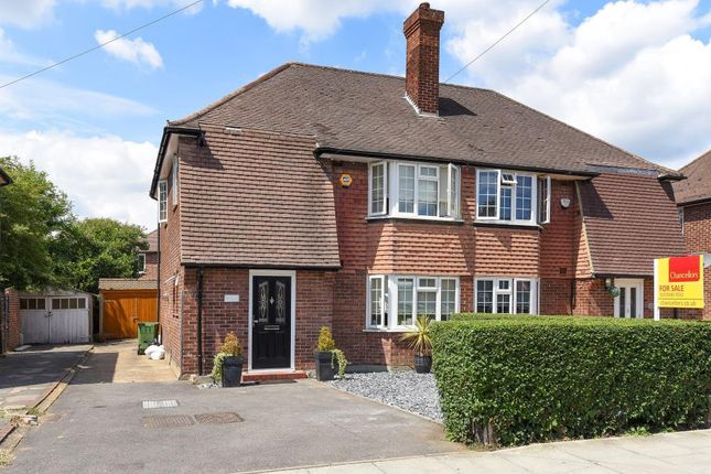 Thumbnail Semi-detached house for sale in Claremont Avenue, Motspur Park