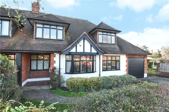 3 bed semi-detached house for sale in Montagu Road, Datchet, Slough