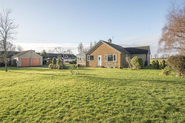 Thumbnail Detached bungalow for sale in Ashcroft, Templar Close, Whitley, Goole