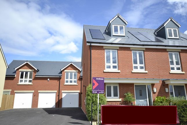 Thumbnail Semi-detached house to rent in Vale Road, Bishops Cleeve, Cheltenham