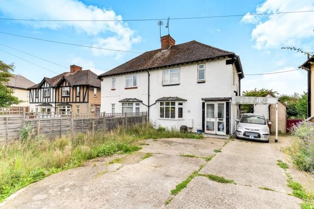 Thumbnail Semi-detached house for sale in Tristram Road, Hitchin, Hertfordshire, England