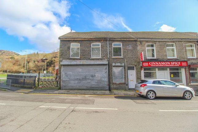 End terrace house for sale in Llewellyn Street, Pontygwaith, Ferndale CF43