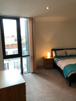 Master Bedroom of Rice Street, Castlefield M3