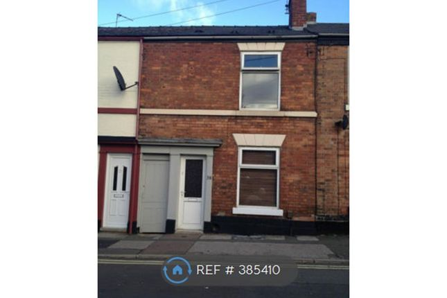 Thumbnail Terraced house to rent in Mount Street, Derby