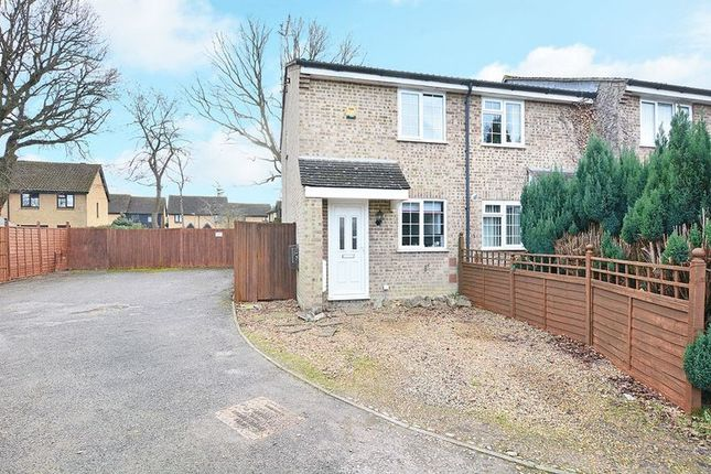 Thumbnail End terrace house for sale in Harrowsley Court, Horley