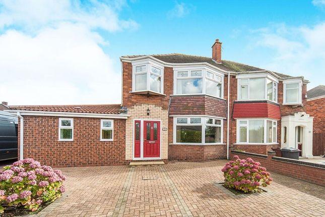 Thumbnail Semi-detached house for sale in Ganstead Lane, Bilton, Hull