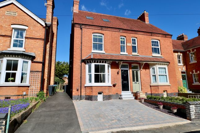 Thumbnail Semi-detached house for sale in Vincent Avenue, Stratford Upon Avon