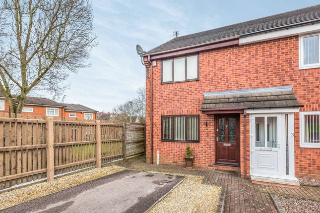 Thumbnail Semi-detached house for sale in Clarence Court, Oldbury