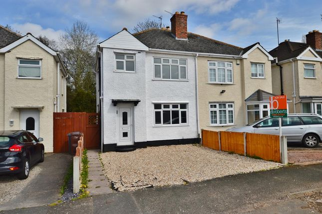 Thumbnail Semi-detached house for sale in The Crescent, Tettenhall Wood, Wolverhampton