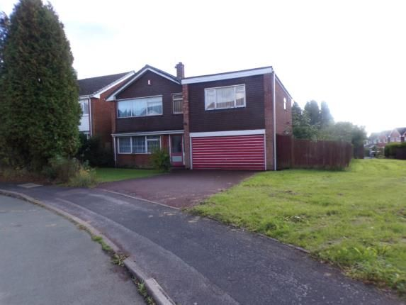 Thumbnail Detached house for sale in Newquay Close, Park Hall, Walsall