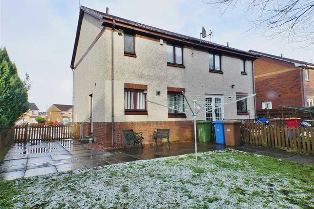 Thumbnail Semi-detached house for sale in Forties Gardens, Thornliebank, Regent Park, Glasgow
