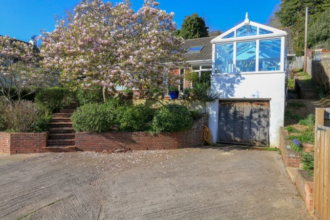 Thumbnail Detached bungalow for sale in Teignmouth Road, Bishopsteignton, Teignmouth