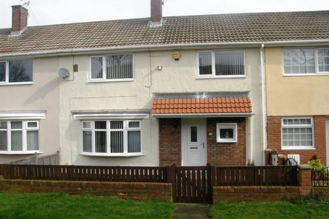 Thumbnail Terraced house to rent in Chilcrosse, Gateshead